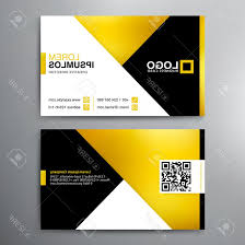 Card Design Template Photostock Vector Modern Business Card Design Template