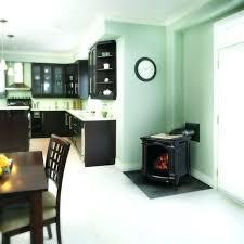 napoleon gas fireplace stove small cast iron black free logs