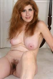 Mature redhead big tits hairy