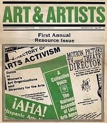 Art Workers News and Art & Artists - Wikipedia