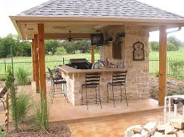outdoor kitchens design and installation