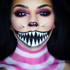 tina k on insram cheshire cat makeup look i also filmed a tutorial the link is in my bio this look was so many layers but it looked