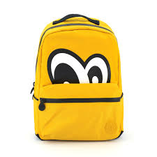 Yellow Designer Backpack Eyes Backpack Yellow Decovry Com