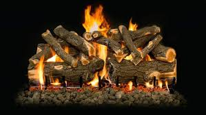desa ventless fireplace ceramic gas logs burning with flames and embers gas fireplaces desa ventless fireplace
