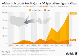 Of Visas Chart Statista Afghans Special • The Account For Immigrant Majority