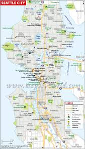 seattle map seattle washington map