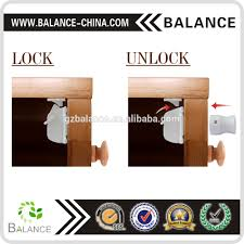 Hidden Drawer Lock Hidden Magnetic Drawer Lock For Baby Safety Adhesive Magnetic