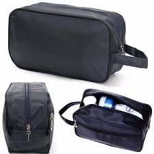 men travel waterproof toiletry bag wash shower makeup organizer portable carrying case phone pouch cod
