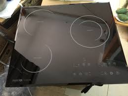 Bếp điện từ Fandi FD-322IH nhập khẩu nguyên chiếc, bếp ko kén nồi, kiểu  dáng thiết kế đẹp, đun nấu nhanh, mặt kính Schott ceran