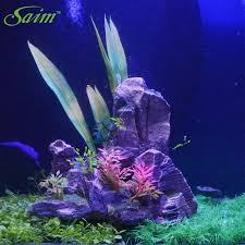 Mountain Decor Accessories Aquarium Decorative Fish Tank Stones 100 New Artificial Mountain 95