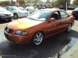 2006 Volcanic Orange Nissan Sentra SE-R Spec V #57875570 Photo #3 ...