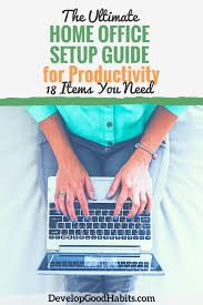 home office items. Ultimate Home Office Setup Guide For Productivity Home Office Items