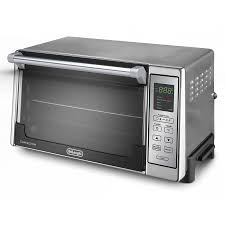 kenmore toaster oven. de\u0027longhi 6-slice silver convection toaster oven with auto shut-off kenmore