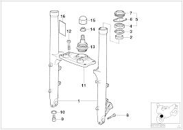 Fork slider lower fork bridge