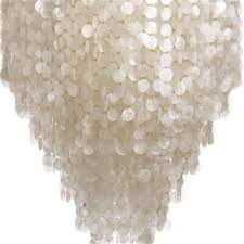 modern white capiz shell chandeliers lighting re pendant lamps throughout chandelier idea 19