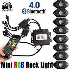 led boat deck lights. 8 Pods LED Rock Lights In 1 Boat Led Deck Lamp 9W RGB
