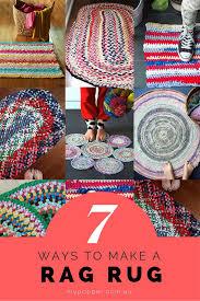 7 ways to make a rag rug mypoppet com au