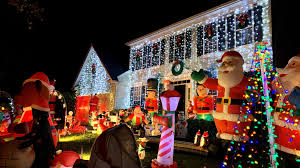 Slayer Christmas Light Show How Inflatable Holiday Decorations Took Over The Front Yard