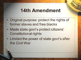 the fourteenth amendment warm up ppt 7 14th amendment