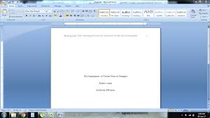 Simple And Easy Guidelines On How To Write In Apa Format For Dummies