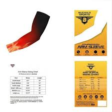 Mcdavid Compression Arm Sleeve Sizing Chart Sports Compression Arm Sleeve Non Slip Basketball Elbow Support Brace Sleeves Youth Medium Flames