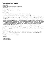 10 Cover Letter Sample For Job Application 1mundoreal
