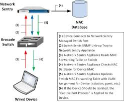 campus network solution design guide bradford networks network bradford wireddeviceauthenticationprocess jpg