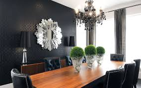 dining room wallpaper. willowgrove dining room contemporary-dining-room wallpaper