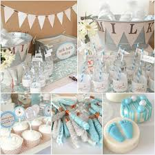 126 Best Twin Baby Showers Images On Pinterest  Twin Baby Baby Shower Party Table Decorations