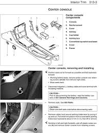 center console removing and installing bz02 p 513 3 tech click here to view high quality pdf