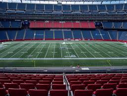 Michigan Stadium Club Level Seating Chart Gillette Stadium Club 10 Seat Views Seatgeek