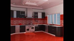 Red And Black Kitchen Fancy Red Black And White Kitchen Ideas Youtube