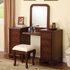 Mirrored Bedroom Vanity Bedroom Excellent Bedroom Vanity Decorating Ideas Wonderful