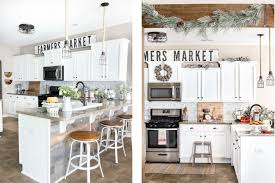 Modern farmhouse kitchen design Colonial Farmhouse The Spruce Gorgeous Modern Farmhouse Kitchens