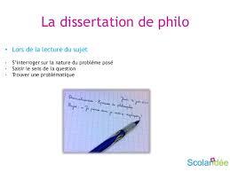 Reussir une dissertation de philo    La dissertation de philo