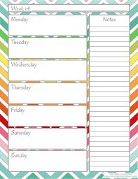 Free Calendar Printables Weekly Calendar Printable Get Free