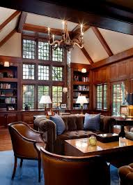 office wood paneling. Boston Pillows For Leather Home Office Traditional With Wood Paneling Curtains And Drapes Library I
