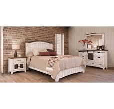 White Wash Bedroom Set, Rustic White Bedroom Set