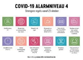 Coronavirus: nieuwe maatregelen vanaf 23 oktober - Stad Brugge