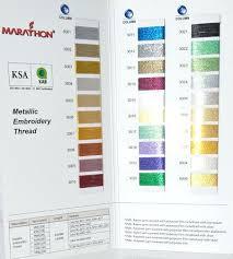 Marathon Embroidery Thread Marathon Embroidery Thread Color