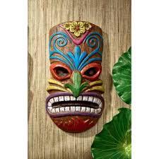 hoaloha god of the hawaiian isle tiki wall d cor on tiki metal wall art with outdoor tiki decor wayfair