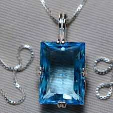 blue topaz necklace topaz pendant 19 96 carat certified at 1 200 00 sterling silver swiss blue december birthstone natural topaz jewelry