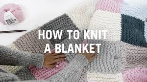 How to Knit a Blanket - Step By Step - YouTube &  Adamdwight.com