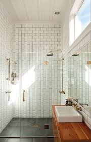 floor to ceiling subway tile bathroom. subway tiles alternate patterns floor to ceiling tile bathroom a