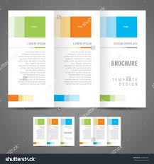 best agenda templates part  one page brochure template