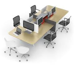 Image Call Center Modern Workstations Modern Office Furniture Strongproject Modern Office Interiors Out With The Old In With The New Modern