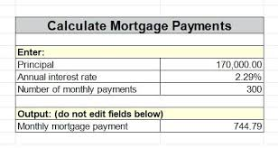 Loan Calculator Excel Formula For Mortgage Sheet – Iinan.co