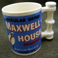 See more ideas about coffee, maxwell, coffee design. Vintage Maxwell House Coffee Mug Cup Strange Handle Design Japan Ebay