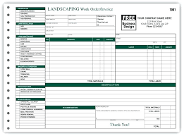 Landscaping Contract Template Landscape Contracts Forms Sample Free