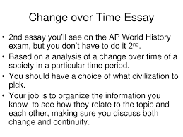 continuity and change over time essay example apush dissertation  apush mr vinluan s classes google sites